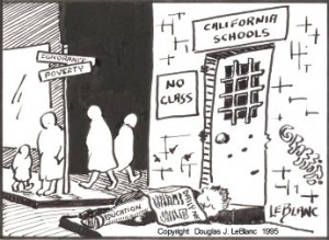 California School funding at the corner of Poverty and Ignorance