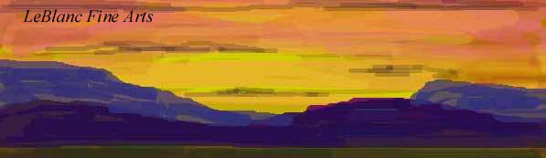 Digital Sunrise © Doug LeBlanc 1995